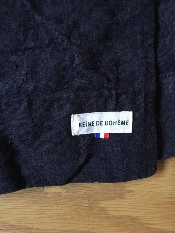 étiquette marque reine de bohème made in france