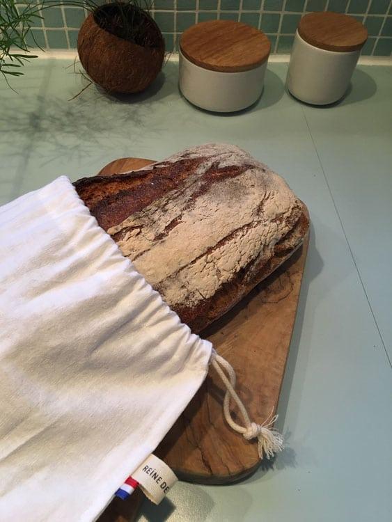 Sac à pain zéro déchet lucien Reine de Bohème