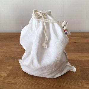 sac ecologique en toile ancienne pour courses en vrac
