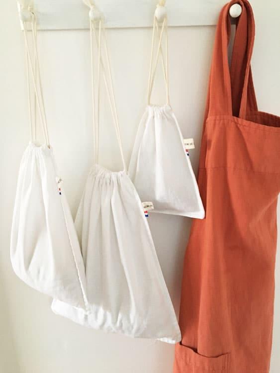 sacs pour courses en vrac zero dechet reine de boheme